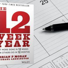Een plan maken voor een 'jaar' van 12 weken