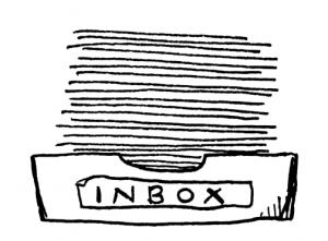 Een inbox (bakje) voor op je bureau