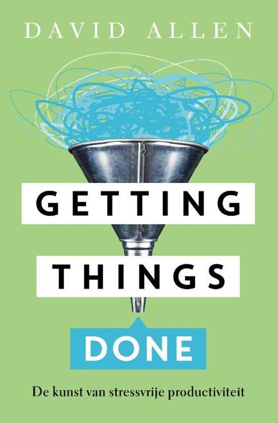 Boek: Getting Things Done - David Allen
