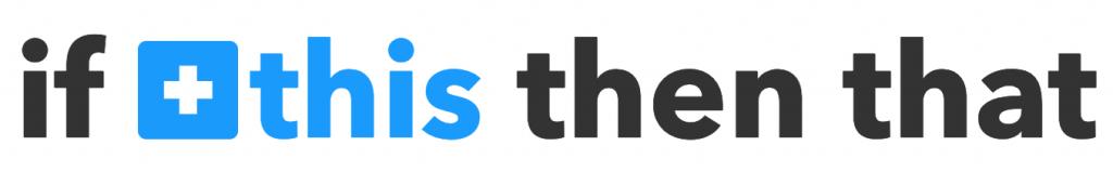 De zin 'if this then that' met het woord this blauw weergegeven.