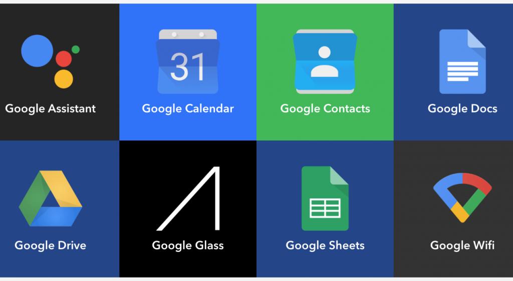IFTTT-services gefilterd op het woord Google