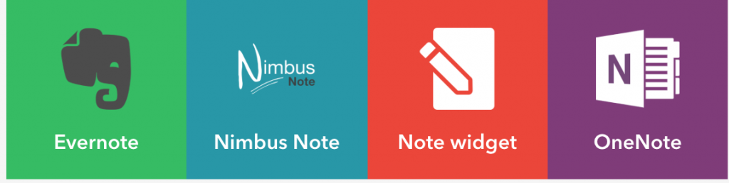 IFTTT-services voor het maken van notities