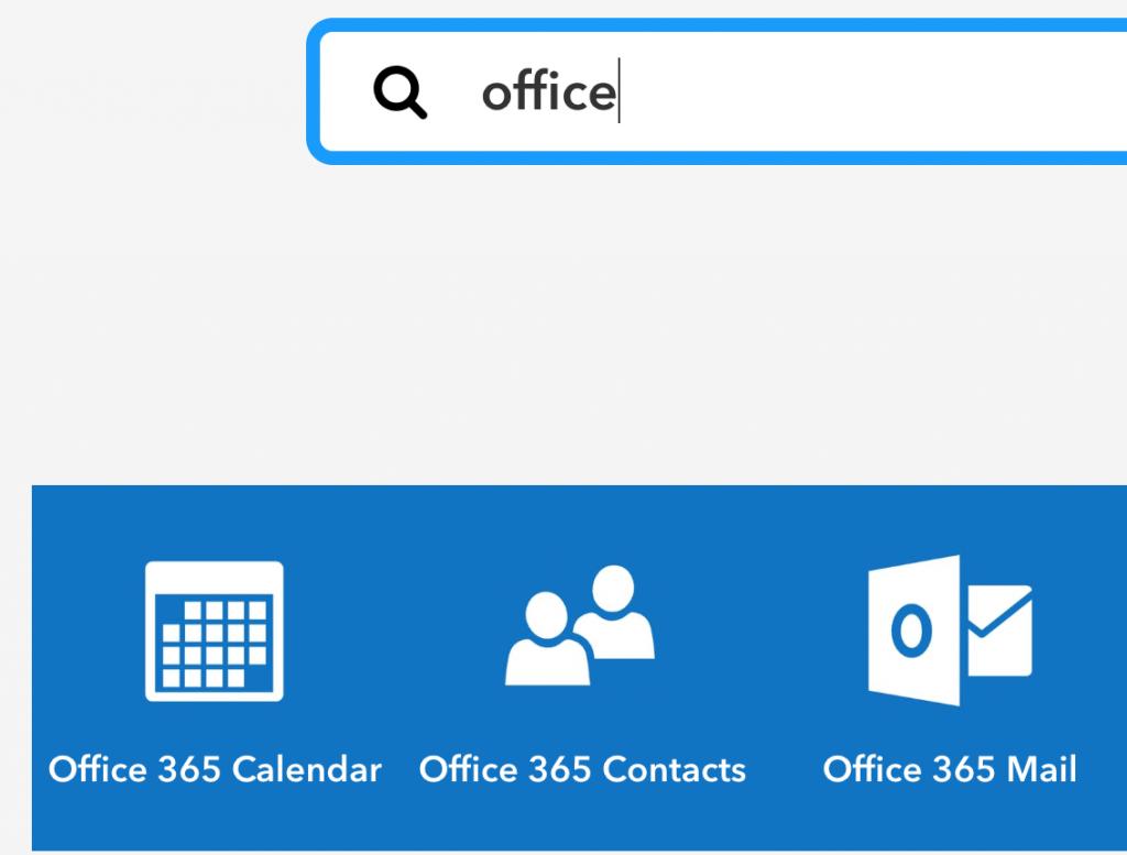 IFTTT-services gefilterd op het woord Office
