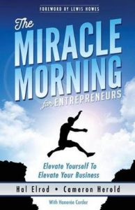 Boek: The miracle morning for entrepreneurs