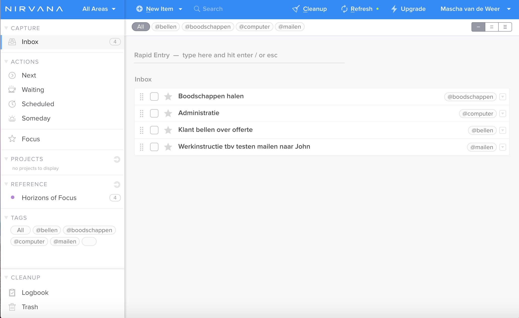 Nirvana - Inbox