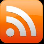 Vierkant oranje icoon met linksonder een een witte stip en twee bogen er rechts naast.