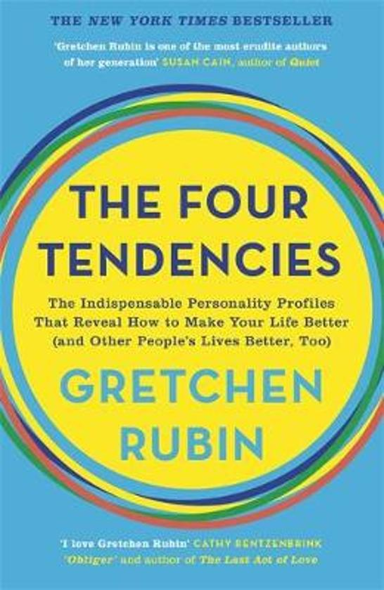 Voorkant boek The Four Tendencies van Gretchen Rubin